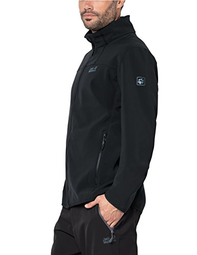 Breathable Altis Jack Warm Element Jacket Softshell Black Mens Wolfskin wPS4qZATX