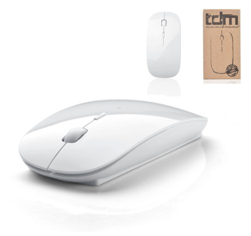 Tedim Ultra Slim/Small Wireless Optical Mouse for Apple Mac Book/Laptop -...