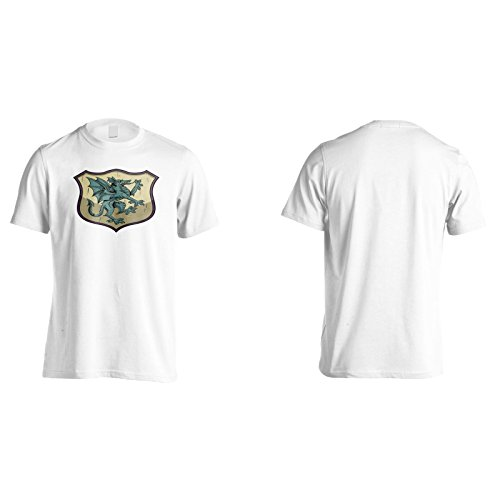 Neuer Drache Schöne Kunstweinlese Herren T-Shirt l613m
