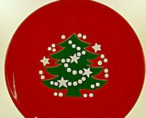 Waechtersbach Christmas Tree Salad Plate