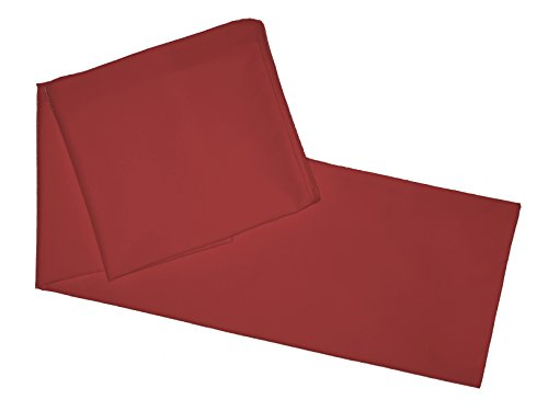 Multiple-Colors-Body-Pillowcase-Cover-Zipper-End-21x-55-Burgundy
