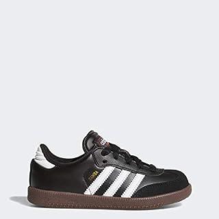 adidas Kids' Samba Classic Soccer Shoe, White/Black/White, 5 M US Big Kid (B00099E7BU)   Amazon price tracker / tracking, Amazon price history charts, Amazon price watches, Amazon price drop alerts