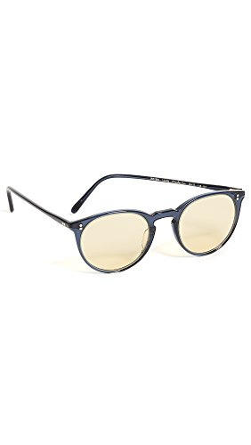 Oliver Peoples Eyewear Men's O'Malley Sunglasses, Bright Navy, One - Oliver People Malley O