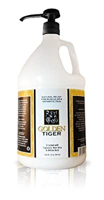 Golden Tiger Pain Relief Cream1 Gallon