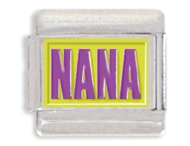 Nana Italian Charm - Nana Italian Charm Bracelet Link