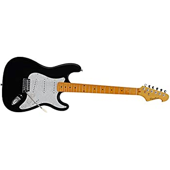 spectrum ail 90bp custom pro series st style electric guitar with mini amp pack. Black Bedroom Furniture Sets. Home Design Ideas