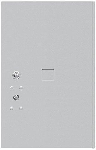 6 Tenant Doors (Salsbury Industries 3756P-ALM Replacement Parcel Locker Door and Tenant Lock for Standard 6 H 4C Horizontal Parcel Locker with Keys , Aluminum)