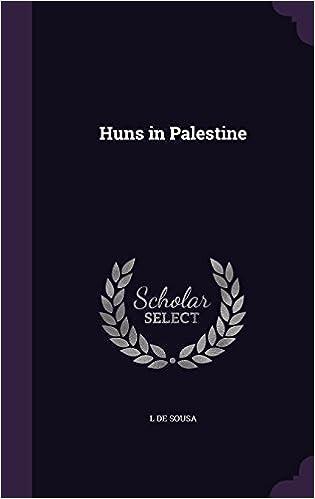 Book Huns in Palestine