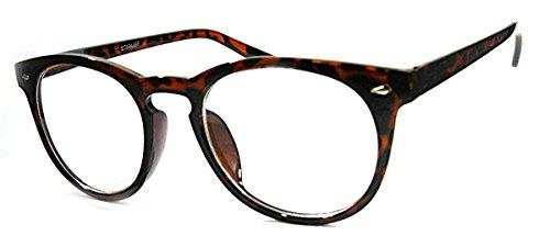 Bifocal Blended Lens Reading Glasses Keyhole Bridge 1.50 Tortoise Keyhole Tube