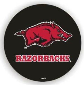 Arkansas Razorbacks Black Spare Tire Cover - Arkansas Razorbacks Tire Cover