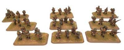 Flames Of War Strelkovy Platoon by Battlefront Miniatures