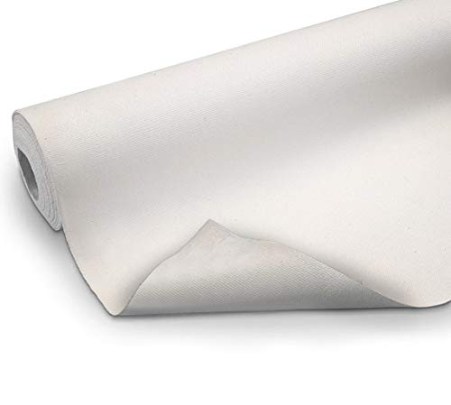 "VViViD Double Primed Cotton Canvas 12"" Wide Roll Choose Your Size! (5ft x 12"" Roll)"