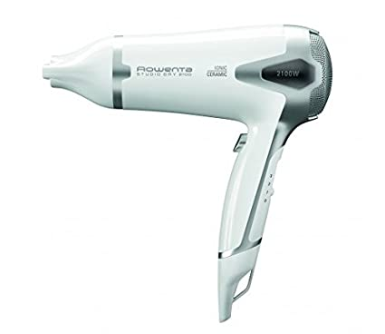 Rowenta Studio Dry - Secador de pelo, color blanco