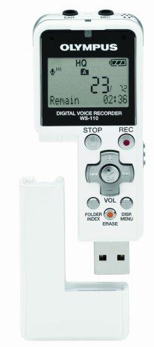 amazon com olympus ws 110 wma digital voice recorder electronics rh amazon com Olympus Voice Recorder eHow Olympus Voice Recorder eHow