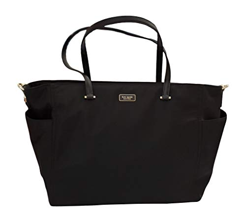 Kate Spade New York Dawn Baby Diaper Bag (Black)