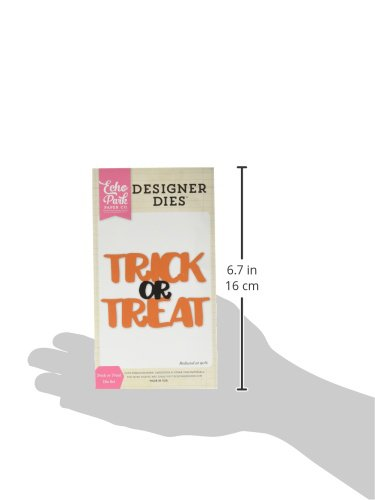 Echo Park Paper Company EPPDIE571 Trick or Treat Word Die Set