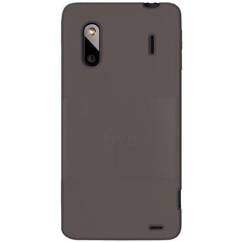 Amzer Silicone Skin Jelly Case - Grey For HTC EVO Design ...