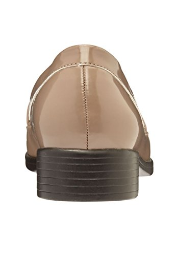 Comfortview Womens Plus Size Kathy Flats Dark Taupe