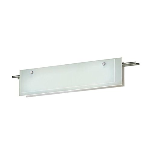 13 Sonneman Suspended Glass - Sonneman 3213-13LED LED Bath Bar, Silver
