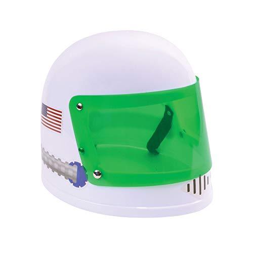 Bristol Novelty BH711 Astronaut Helmet Childs Boys, Girls, White -