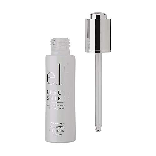 e.l.f. Cosmetics Beauty Shield Vitamin C Pollution Prevention Serum, 0.95 Fl. Ounce, 0.95 Fl Ounce