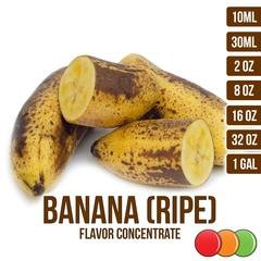 OOOFlavors Banana Ripe Flavored Liquid Concentrate (10 ml) Ripe Bananas