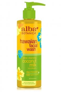 Alba Botanica Hawaiian Facial Wash Coconut Milk - 8 fl oz