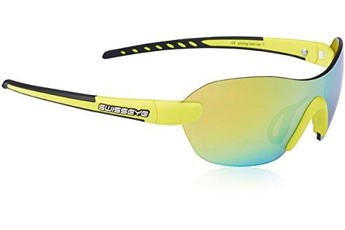 Swiss eye lunettes de sport horizon Yellow Matt/Black