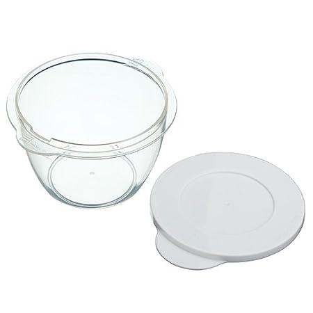 Kitchen Craft KCMPOT2PC - Accesorio para microondas, color blanco ...
