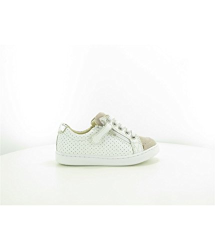 Coloris Play Shoo vel Poudre Textile bi Pom Cuir Nappa 31 Taille lo Matiere Punch Zip White pqq85