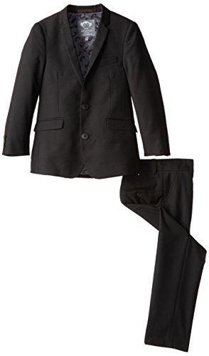 Appaman Little Boys' Two Piece Mod Suit, Black, 5
