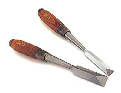 """Narex Pair 1/2"""" and 3/4"""" Dovetail Japanese Style Chisels from Narex"""