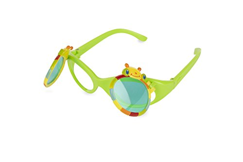 Melissa & Doug Sunny Patch Giddy Buggy Flip-Up Tinted Sunglasses With UV - Sunglasses Bugs Water