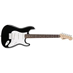 Squier Bullet Stratocaster HT Electric Guitar – Black