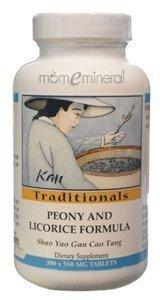 Kan Traditionals - Shao yao gan cao tang - Peony and Licorice Formula 500 mg 300 tab by Kan Herb