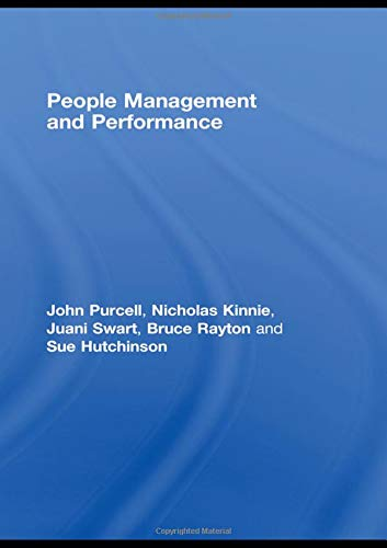 People Management and Performance pdf