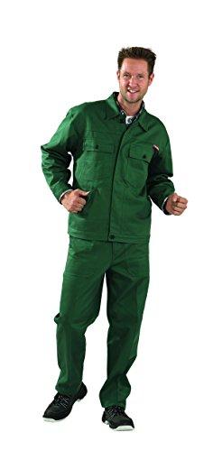 Berufbekleidung Bundjacke Baumwolle, mittelgrün, Gr. 24-29, 42-64, 90-110 Version: 28 - Größe 28 28,Gruen
