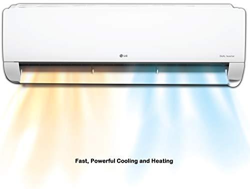 LG 1.5 Ton 4 Star Inverter Hot & Cold Split AC (Copper, KS-H18DNYD, White, Ez Clean Filter) 6