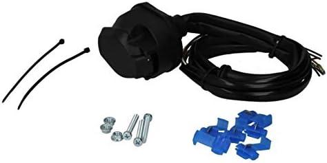 130 cm Kit di cablaggio elettrico universale per rimorchio Bosal 012-058 7 poli AHZV