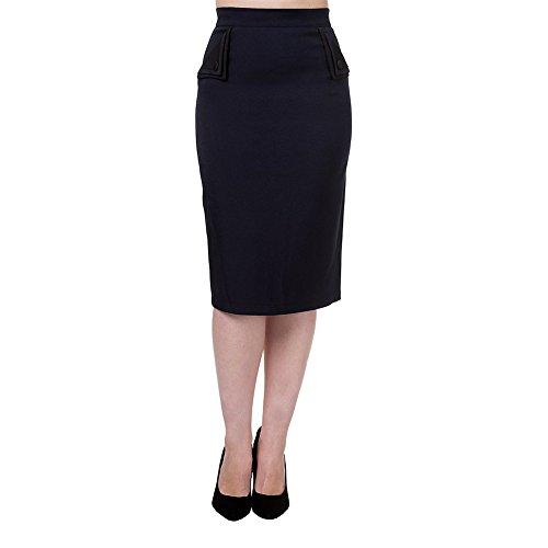 Banned-Womens-Tori-Navy-Skirt