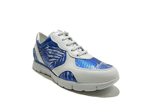 Movie Sneakers Hawai Scarpe Stringate Donna Blu Flexx The 6vwHq5