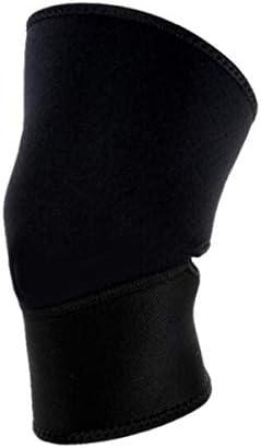 Kaiyitong001 スポーツ膝パッド、バスケットボール登山メニスカス膝パッドサッカー膝ジャケットブラック(1 /のみ)XLを実行している男性と女性の屋外暖かいです,スタイリッシュで絶妙 (Color : Black, Size : XL)
