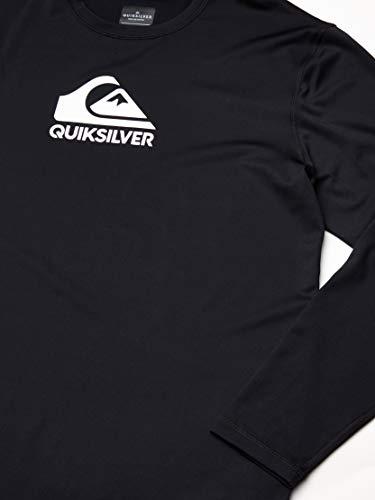 Quiksilver Men's Solid Streak Long Sleeve Rash Guard