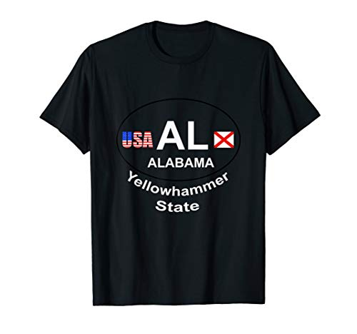 Alabama yellowhammer state shirt flag fun gift ()