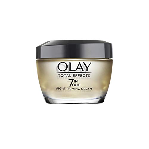 Night Cream by Olay Total Effects Anti-Aging Night Firming Cream & Face Moisturizer, 1.7 Fluid Ounce (Face Replenish Cream)