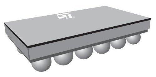 1 piece ESD Suppressors 6lin lw cpcitnc EMI 45pF 35db @ 900MHz