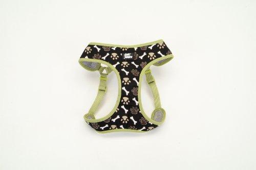 - Pet Attire Adjustable Designer Wrap Harness, 5/8