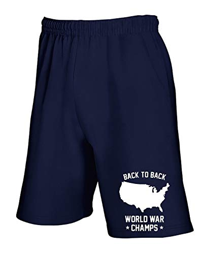 To shirtshock Navy Back 19 Blu Fun0053 T Tuta 2013 Pantaloncini Champs 03 vwOpdq