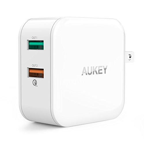 AUKEY USB Wall Charger with Quick Charge 2.0 & ...