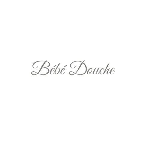 Bb Douche .......: Livre d'or Bb Douche Baby Shower pour fte de naissance 21 x 21 cm Accessoires decoration idee cadeau fte de naissance bb Couverture Blanc (French Edition)